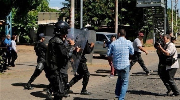 مواجهة بين الأمن ومعارضين في نيكاراغوا (أرشيف)