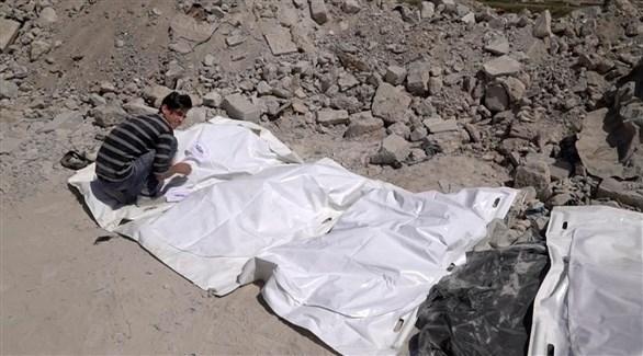 جثث قتلى من تنظيم داعش الإرهابي في الموصل (أرشيف)