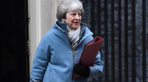 رئيسة الوزراء البريطانية تيريزا ماي (إ ب أ)