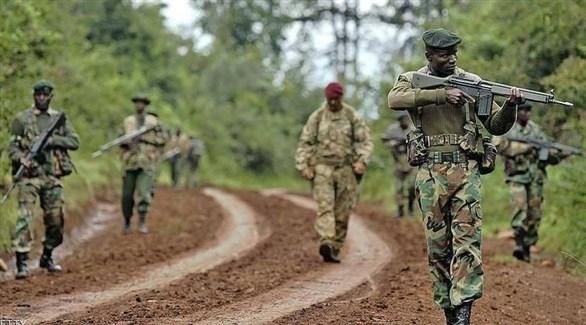 دورة عسكرية راجلة من الجيش الكيني (أرشيف)
