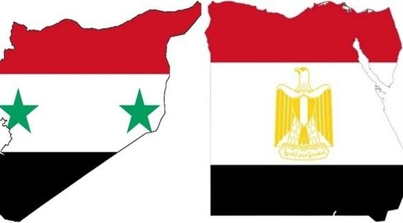 مصر وسوريا (أرشيف)