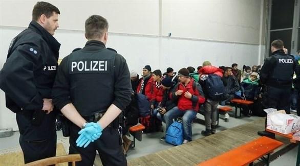 طالبو لجوء في المراكز الألمانية (أرشيف)