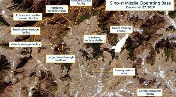 صورة لقاعدة سينو-ري للصواريخ الباليستية (تشاينا مورنينغ بوست)