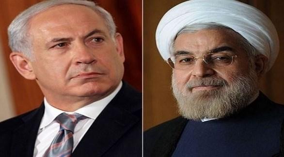 رئيس الوزراء الإسرائيلي بنيامين نتانياهو والرئيس الإيراني حسن روحاني (أرشيف)