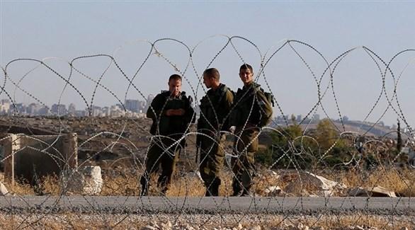 جنود إسرائيليون على الحدود مع غزة (أرشيف)