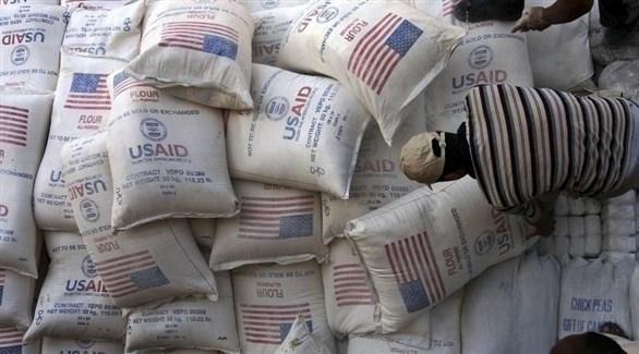 وكالة التنمية الأمريكية الدولية توزع مساعدات غذائية بالأراضي الفلسطينية (أرشيف)