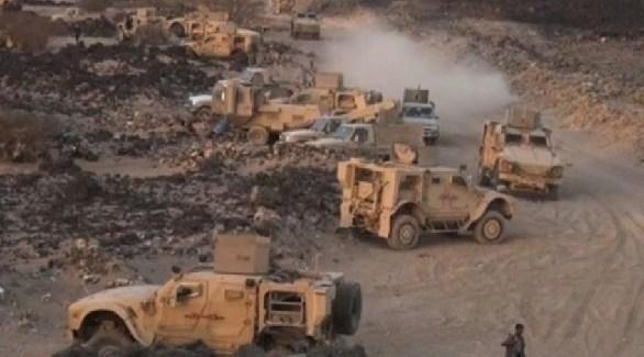 مدرعات عسكرية تابعة للجيش اليمني (أرشيف)