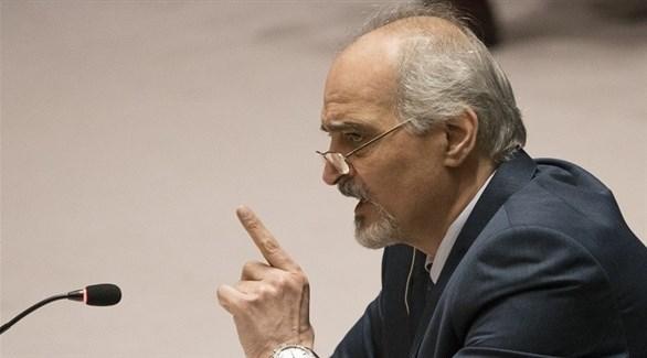 مندوب سوريا في مجلس الأمن الدولي بشار الجعفري (أرشيف)