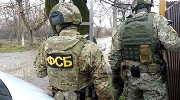 عناصر من جهاز الأمن الفدرالي الروسي (روسيا اليوم)