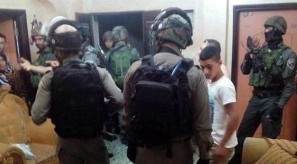 قوات الاحتلال في مداهمة بالضفة الغربية (أرشيف)