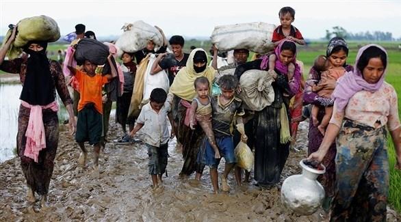 نازحون من الروهينجا في بنغلادش (أرشيف)
