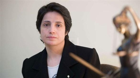 الناشطة والمحامية الإيرانية  البارزة