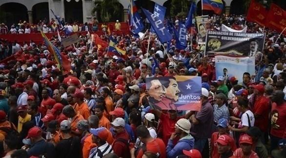 المظاهرات في كراكاس (تويتر)