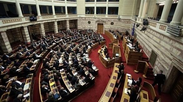جلسة سابقة في البرلمان اليوناني (اي بي ايه)