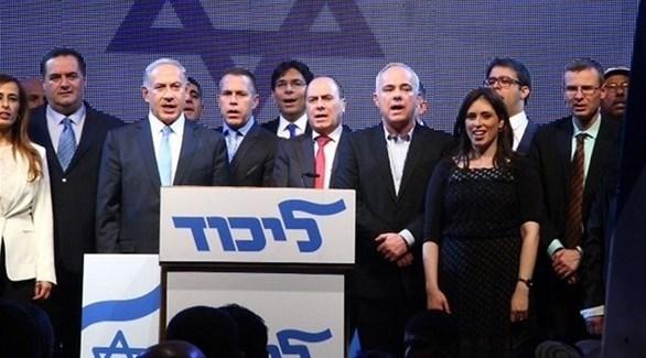 قيادات حزب الليكود الإسرائيلي بزعامة بنيامين نتانياهو  (أرشيف)