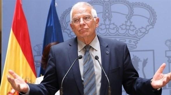 وزير الخارجية الإسباني جوسيب بوريل (أرشيف)