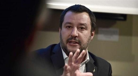 نائب رئيس الوزراء الإيطالي ماتيو سالفيني (أرشيف)