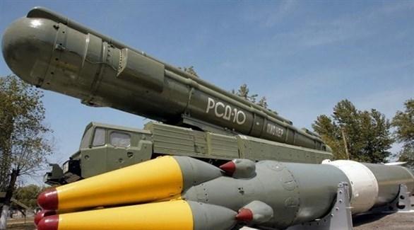 منظومة صاروخ كروز من طراز إسكندر (أرشيف)