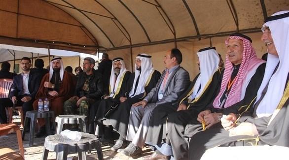 ممثلون عن القبائل والعشائر في الشمال السوري (أورينت نت)
