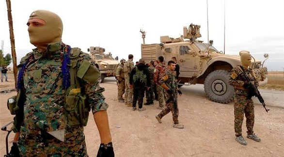 عناصر من قوات سوريا الديمقراطية في شرق الفرات (أرشيف)