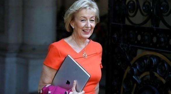 وزيرة شؤون الدولة في مجلس العموم البريطاني أندريا ليدسوم (أرشيف)