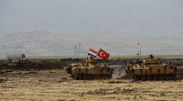 قوات تركية في العراق (أ ف ب)