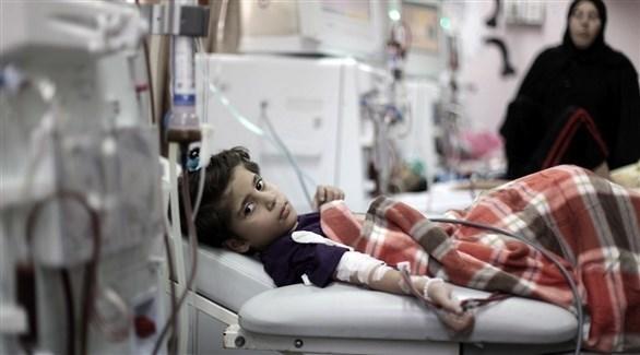 مرضى في مستشفيات غزة (أرشيف)