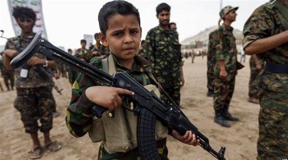ميليشيا الحوثي يجندون الأطفال(أرشيف)