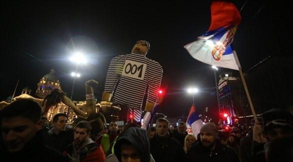 مظاهرات في صربيا (إيه بي أيه)