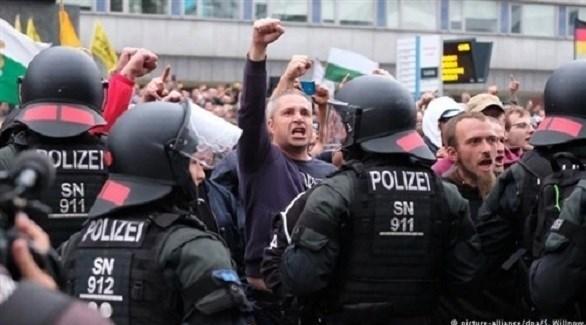 تظاهرات في ألمانيا (أرشيف)