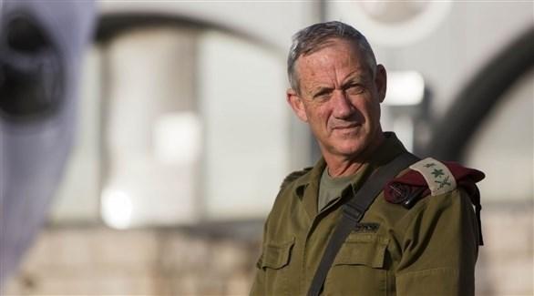 رئيس هيئة الأركان الإسرائيلية السابق الجنرال بيني غانتس (أرشيف)