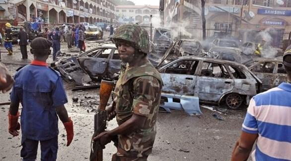 سيارات محترقة من تبعات هجوم لبوكوحرام (أرشيف)