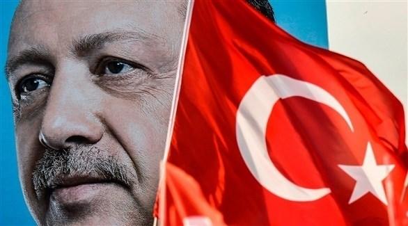 صورة عملاقة للرئيس التركي رجب طيب أردوغان (أرشيف)
