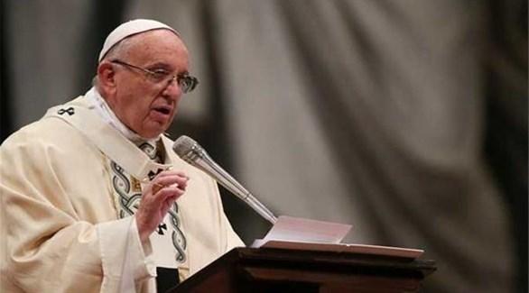 بابا الفاتيكان(أرشيف)