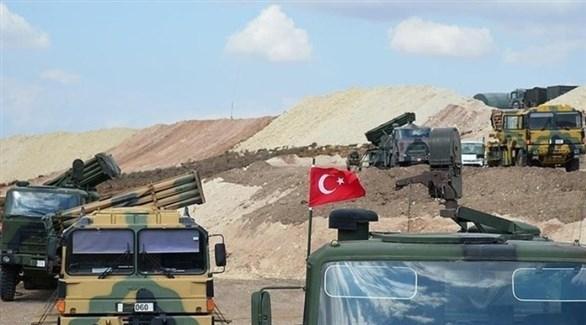 آليات عسكرية ودبابات تركية (أرشيف)