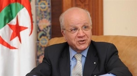 رئيس المجلس الدستوري الراحل مراد مدلسي (أرشيف)