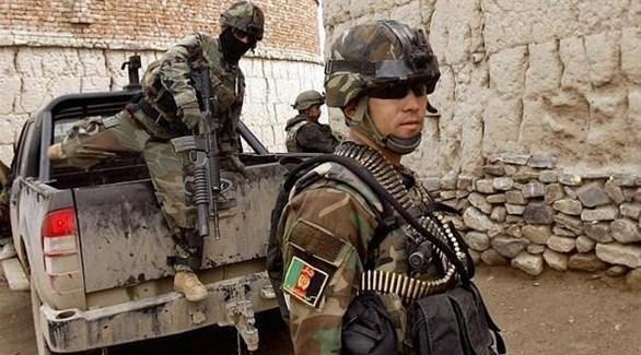 عناصر من قوات خاصة أفغانية (أرشيف)