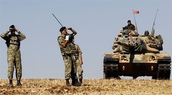 وحدة من الجيش التركي على الحدود السورية (أرشيف)