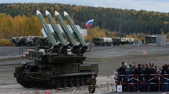 منصة صاروخية روسية (أرشيف)