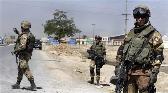 عناصر أمنية إيطالية في أفغانستان