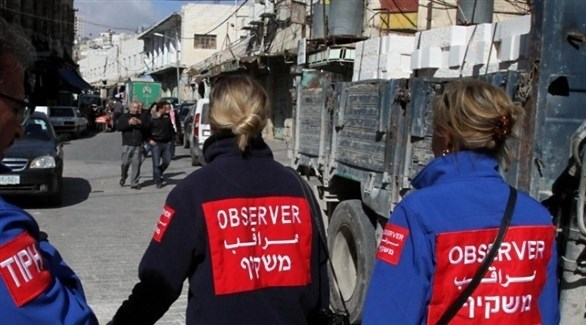 فريق من المراقبين في الأراضي الفلسطينية