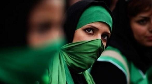 إيرانيات مؤيدات للحركة الخضراء (أرشيف)