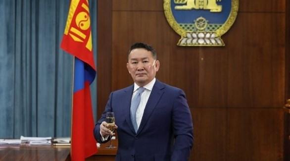 رئيس منغوليا انخبولد ميجومبو (أرشيف)
