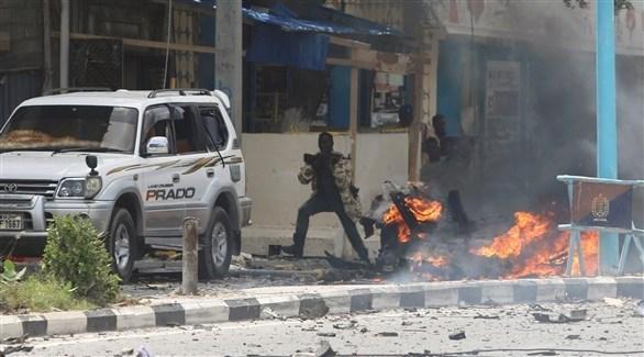 تفجير إرهابي لحركة الشباب الصومالية في مقديشو (أرشيف)
