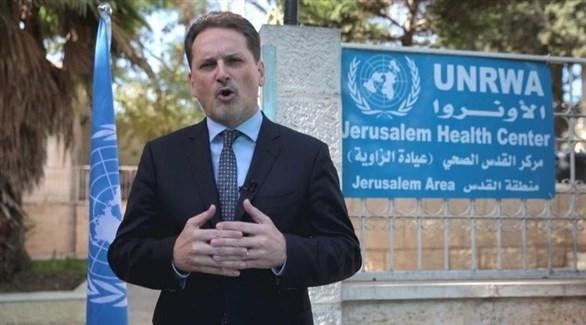 المفوض الأمم المتحدة لإغاثة وتشغيل الاجئين الفلسطينيين الأونروا بيير كرينبول (أرشيف)