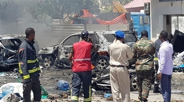 انفجار سيارة مفخخة بمقديشو (أرشيف)