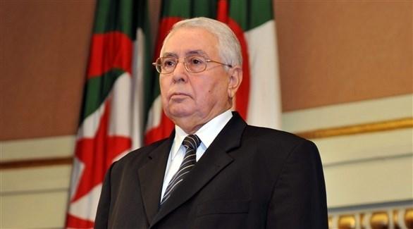 رئيس مجلس الأمة في الجزائر عبد القادر بن صالح (أرشيف)