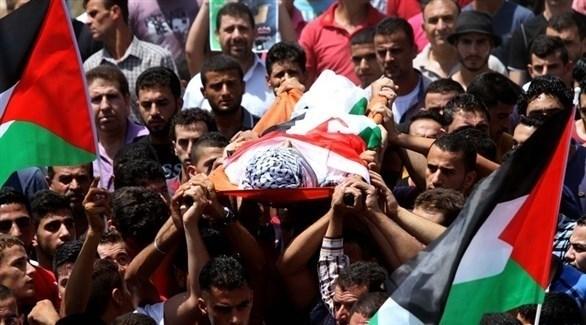 تشييع جثمان شهيد فلسطيني (أرشيف)