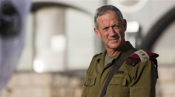 رئيس هيئة أركان الجيش الإسرائيلي السابق بيني غانتس (أرشيف)