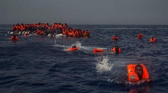 مهاجرون وسط البحر (أرشيف)